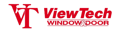 ViewTech Windows and Doors Logo